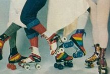 Party / Inspiration for my future 1970s themed roller skating party!