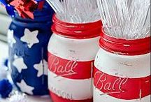 Fun for the 4th / All fun ideas for the 4th of July-recipes, crafts, games, decorations.