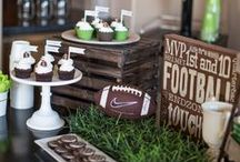 Sports Themed Party Ideas / Fun ideas for throwing the perfect party for your sports fan!