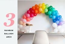 Fun Balloon Ideas / Fun ways to use balloons!