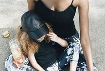 mother daughter style. / Mother daughter style, little girl style, fashionable outfits, Mommy and me