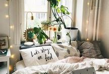 Dream Home / Home decor inspiration with a girly and cozy feel