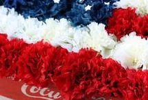 Holidays: Independence Day / A collection of July 4th ideas, featuring crafts, sewing projects, recipes and more.
