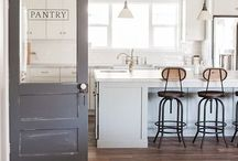 Kitchens & Dining / Apparently I'm drawn to kitchen's that are Bright, White, Fresh and Cluttered.