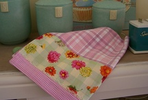 Tea Towels, Pot Holders, Pillow Cases and Linens / by Canned Quilter