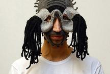 Masks by Aldo Lanzini - Masques de Aldo Lanzini