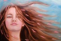 etsy art love love / by Kelly Berkey Paintings