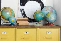 Maps & Globes / by {JennySue}