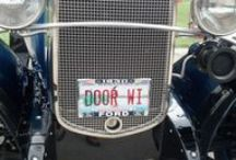 "Door County License Plates / License plates that feature wordplay on anything ""Door County"""