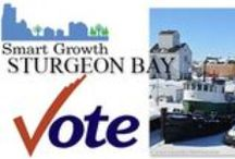 Sturgeon Bay Smart Growth! / There are 4 Aldermanic seats up for election in Sturgeon Bay on Tuesday, April 7, 2015! ...and there will be 3 official write-in candidates joining the winner of the February 17 primary to insure that there will be 4 new legislators eager to represent the people who elect them.
