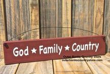 Etsy Finds Handmade Signs & Plaques / Outer Banks Country Store! Quality Country, Shabby Chic Sign Plaques at affordable price & Made in the USA! FREE SHIPPING! WHOLESALE INQUERIES WELCOME!