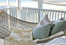 Coastal Cottage Decor / The Coastal, Seaside or Beach Cottage decorating style, with its soft Creams, cool Blues and soothing Greens, is both comfortable and cozy, yet elegant and sophisticated.