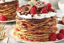 Pancakes, Crepes, Waffles and Churros