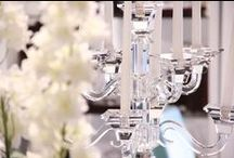 Candelabra + Candlesticks / Crystal, silver and diamonds make for the most exquisite gifts and home decor pieces. Here some of the ones we love and you can find them all at www.Godinger.com.