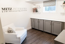 Metz Interiors / Spaces and products designed and created by me! / by Abby Metz