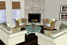 Design Plans / 3d Model pictures of spaces I designed. / by Abby Metz