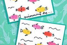 Handmade Card Ideas / Papercrafts and cardmarking inspiration!