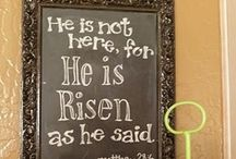 Easter Blessings! / by HeathandSarah Allen