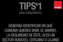 Tips para compradores / Desde al 8 al 12 de octubre de 2012 Almagro publicó en sus redes sociales sus #tipsparacompradores dedicando publicaciones a consejos relacionados en la compra de un departamento.