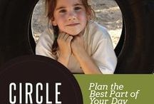 Circle Time! / Plan a great Circle Time or group teaching time for you and your homeschool. Ideas for preschools, too! www.preschoolersandpeace.com