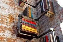Shelf Life / Get creative with your shelves from copper piping to apple crates