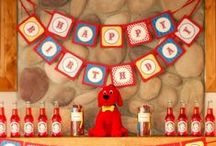 Clifford the Big Red Dog Party / Alethea's 5th Birthday Theme