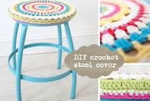 Knit & Crochet Projects for the Home