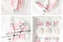 Caketopper / Kleine selbstgemachte Cake- und Cupcaketopper :)
