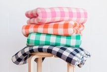 PATTERNS: i heart Gingham / An ode to a popular fabulous pattern. / by Pencil Shavings Studio