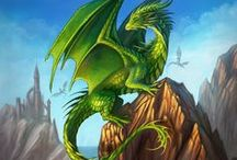 There Be Dragons / I just love dragons.  I'd never want one for a pet, but it would be cool to have the mythical creature stop by every once and awhile.