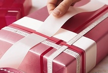 Gift wrapping / by Aimee Tice
