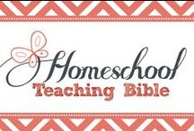 Homeschool: Teaching Bible / Homeschool Bible - the subject that starts and ends each day. How will you teach it? / by Kim Sorgius {Not Consumed}