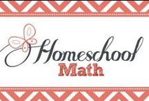 Homeschool Math / Homeschool math ideas...even for those moms who shudder at the thought. / by Kim Sorgius {Not Consumed}