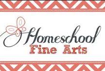 Homeschool Fine Arts / Homeschool Music and Art Instruction / by Kim Sorgius {Not Consumed}