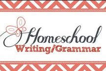 Homeschool Writing/Grammar / Homeschool writing and grammar ideas for busy homeschool moms. / by Kim Sorgius {Not Consumed}