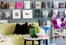 INTERIORS: Living Rooms / Colorful, preppy living rooms / by Pencil Shavings Studio