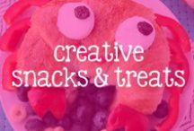 Creative Snacks + treats / Creative foods to feed your little one.  / by RuffleButts