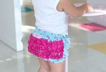 Ruffle-trends: Spring / bloomers, diaper covers, baby girl, baby spring outfits, ruffled baby girl clothes, baby girl style, stylish baby clothes  / by RuffleButts