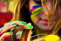 Colour: Rainbow Lives / Where would we be without colour ~ what Not Just Powder loves #beauty #socialmedia #pinterest