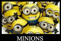 Minions Assemble!! / In my house we love all things Minions.   The Despicable Me movies really make us all smile.   It inspired me to start the board for all things Minion.