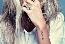 Tattoos / by Katie Lowery Puckett