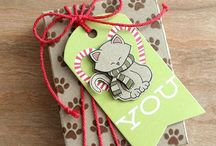 Gift Wrap & Tags / Gift wrap, gift tags and other gift-related ideas!