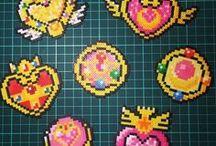 perler bead art