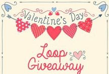 Valentine's Day Instagram loop giveaway prizes / Valentine's day loop giveaway / by Amber @ Simpli Stamped