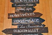 Harry Potter Crafts / I may be a muggle, but I love all the amazing fun crafts that are made possible due to the magical world of Harry Potter.