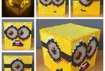 Minion Crafts / The simple shape of the Despicable Me Minions lends itself perfectly for so many great craft ideas.  Plus they are SO cute.   I started the board as a place to hold all those Minion crafts we might do some day.
