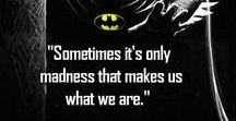 Geek Quotes / It's amazing the inspirational quotes you fan find in your favorite fandom.   Here are some of my favorite geeky quotes.
