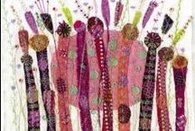fabric art / by Sandra Reynolds