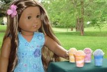 Faux Doll food - Creating realistic food  / Realistic food for children or dolls such as American Girl, Barbie.  / by Margaret Johnson