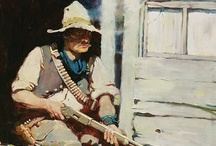 Vintage Cowboy / The Wild West is a staple of fiction, Hollywood, television, and daydreams.